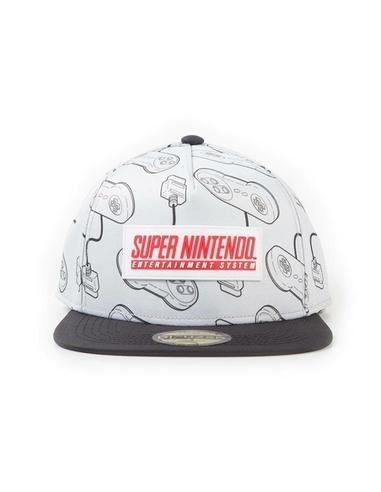 Nintendo Snapback Cap SNES