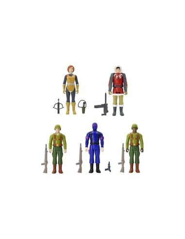 G.I. Joe ReAction Action Figure 10 cm Joes Wave 1A Assortment 2 (12)
