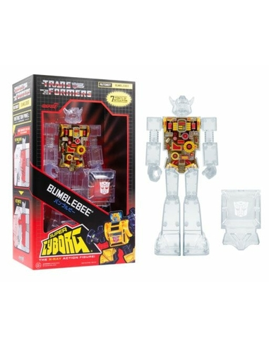 Transformers Super Cyborg Action Figure Bumblebee (Clear) 28 cm