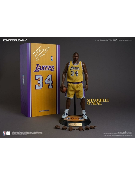 NBA Collection Real Masterpiece Actionfigur 1/6 Shaquille O'Neal 37 cm