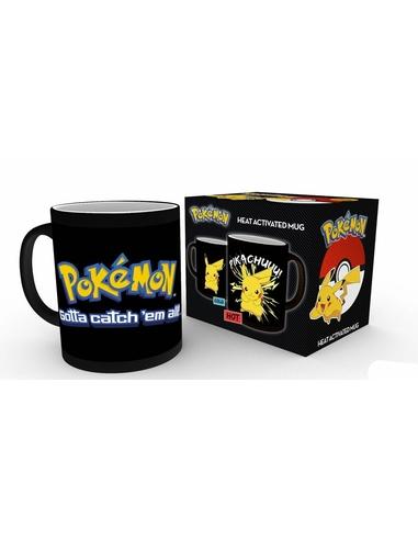 Pokemon Heat Change Mug Pikachu --- DAMAGED PACKAGING