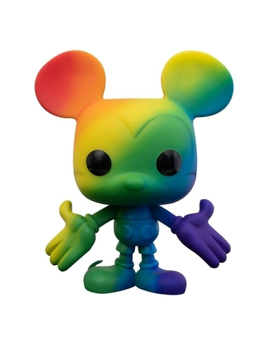Disney POP! Pride Vinyl Figure Mickey Mouse (RNBW) 9 cm